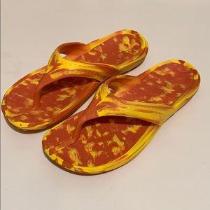 L.L. Bean Plastic Flip Flops - NEW